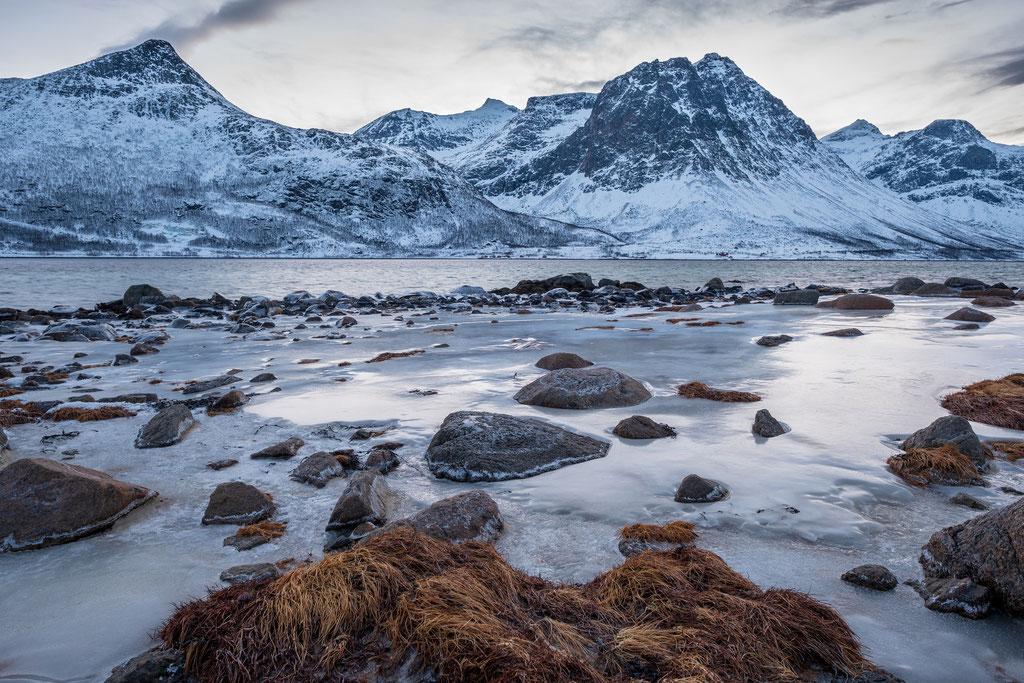Morgenstimmung auf Kvaløya