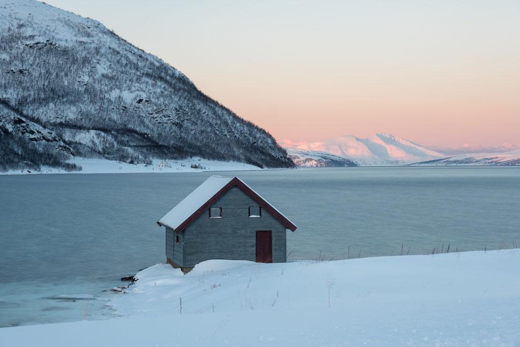 Letztes Bootshaus auf Ringvassøya