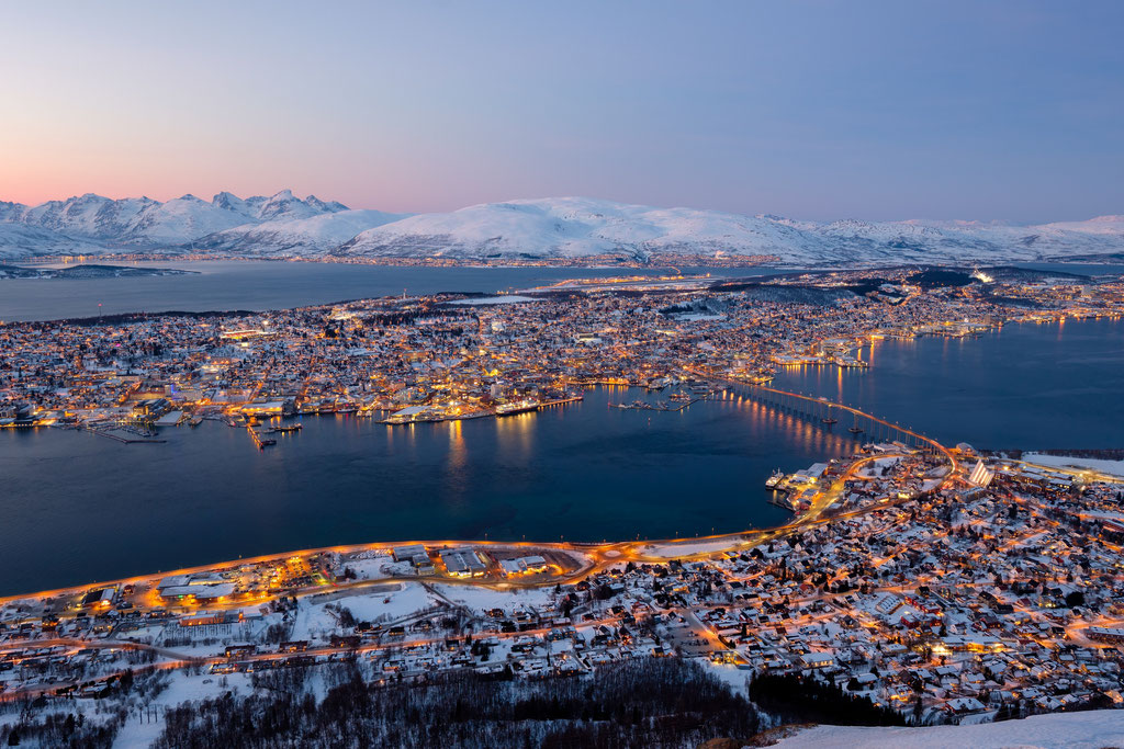 Tromsø im Winter