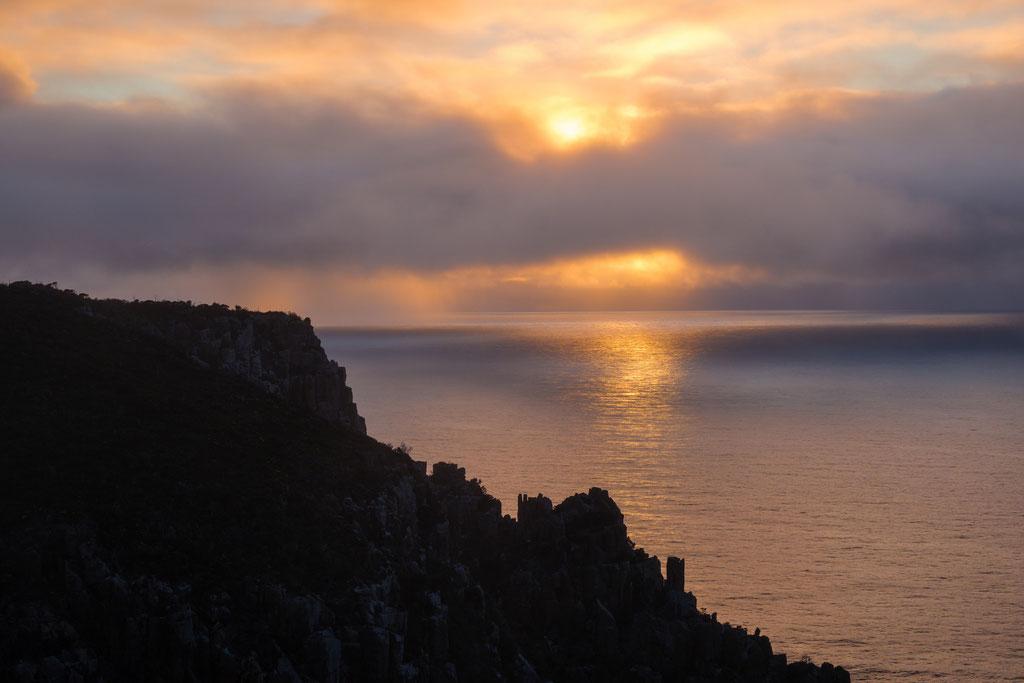 Sonnenaufgang am Cape Hauy, Sunrise at Cape Hauy Tasman National Park