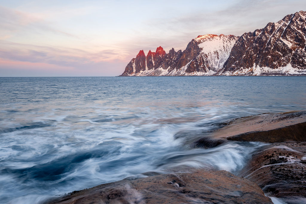 Senja, Okshornan, View from Tungeneset