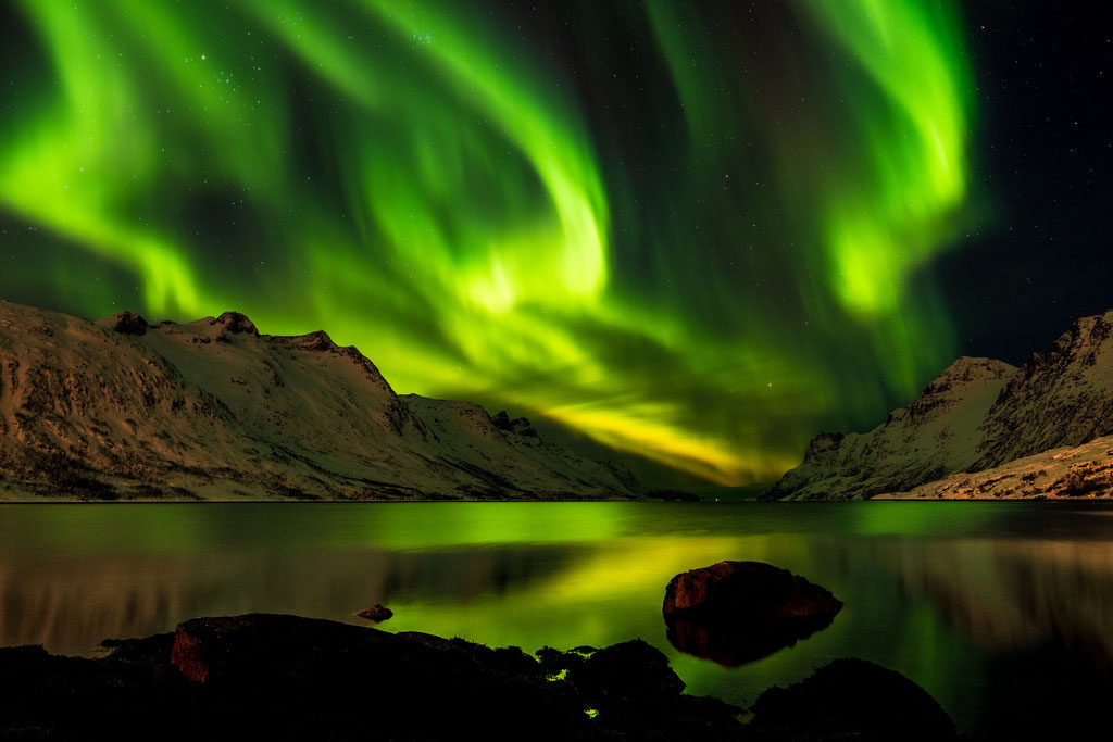 Noch mehr Polarlichter, Kvaløya
