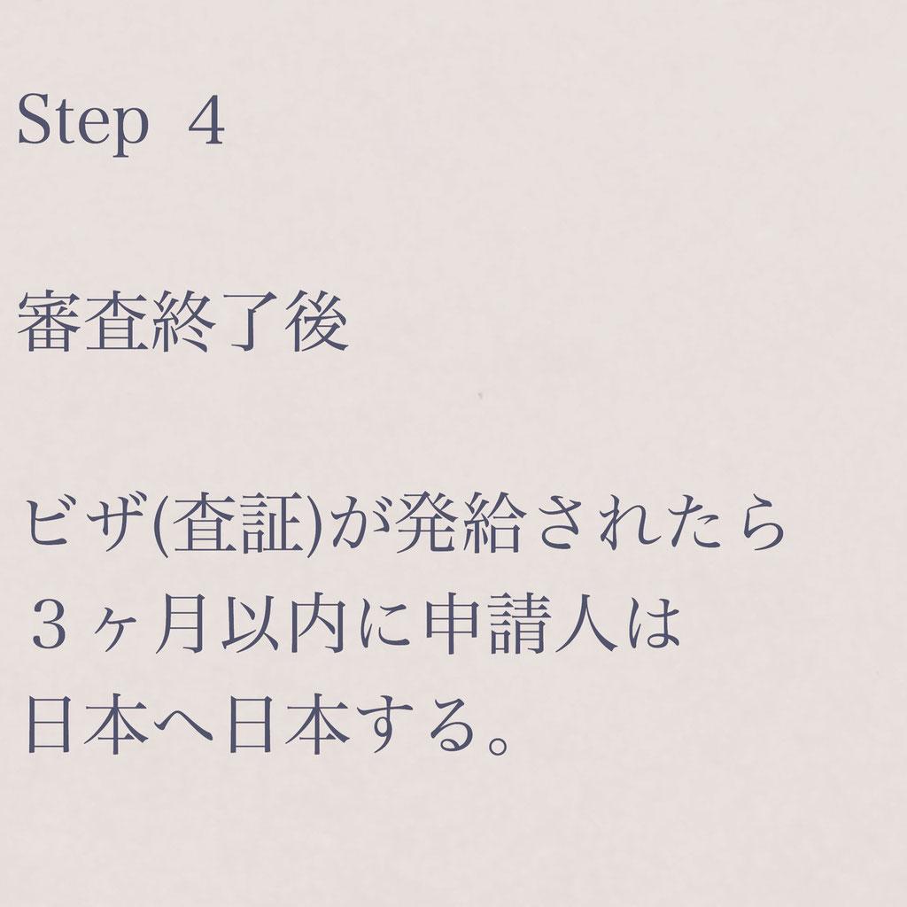 短期滞在ビザ申請手続き案内STEP4【ビザカナ相模原】