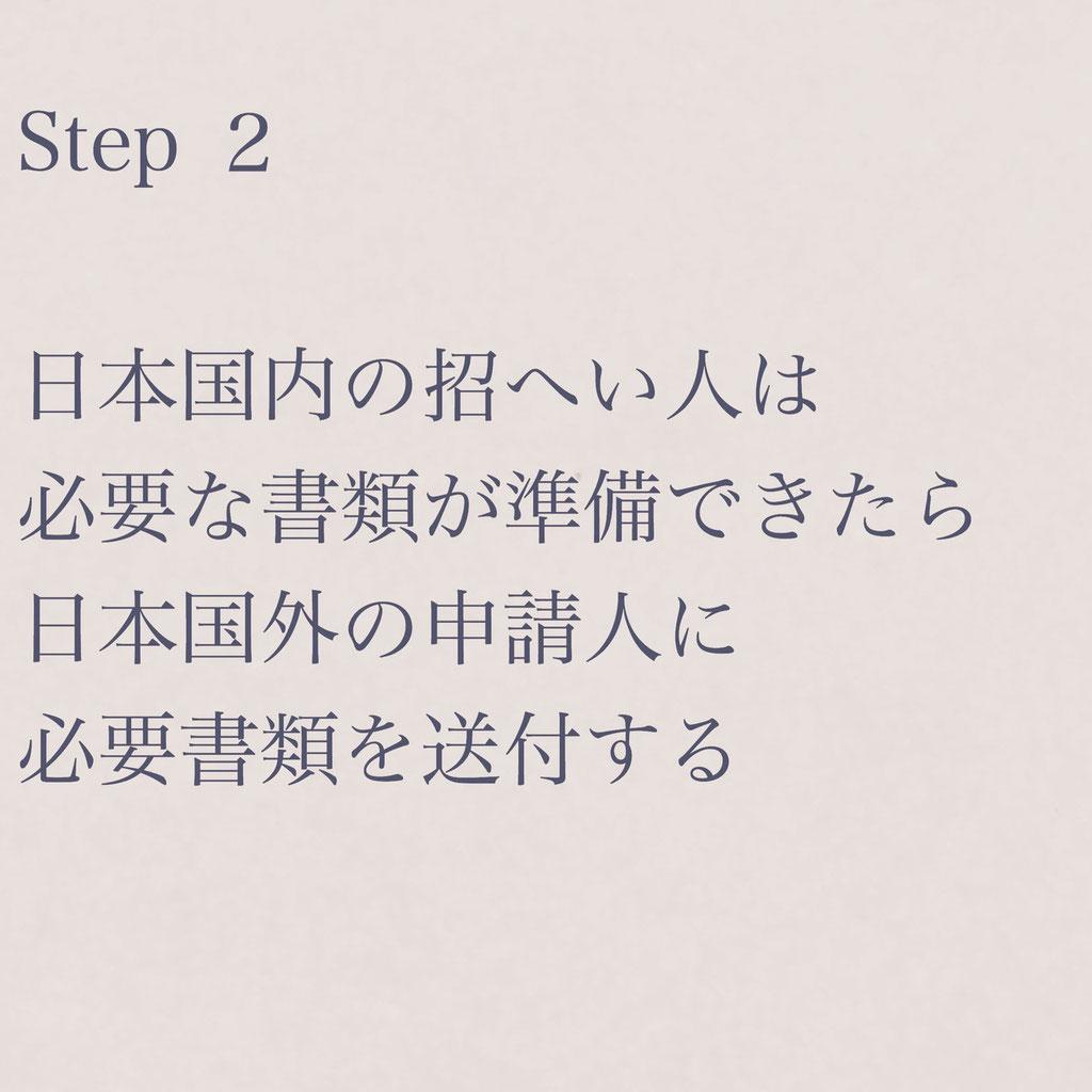 短期滞在ビザ申請手続き案内STEP2【ビザカナ相模原】