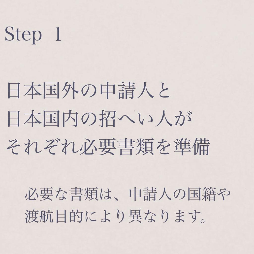 短期滞在ビザ申請手続き案内STEP1【ビザカナ相模原】