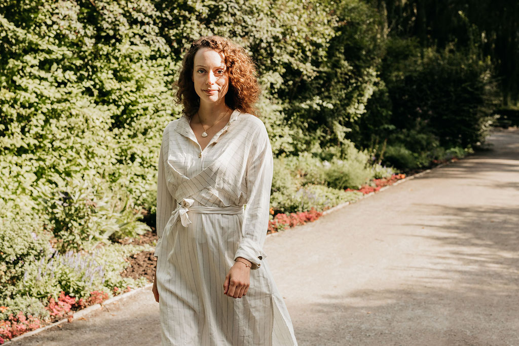 Portrait im Park von Judith Buhlrich