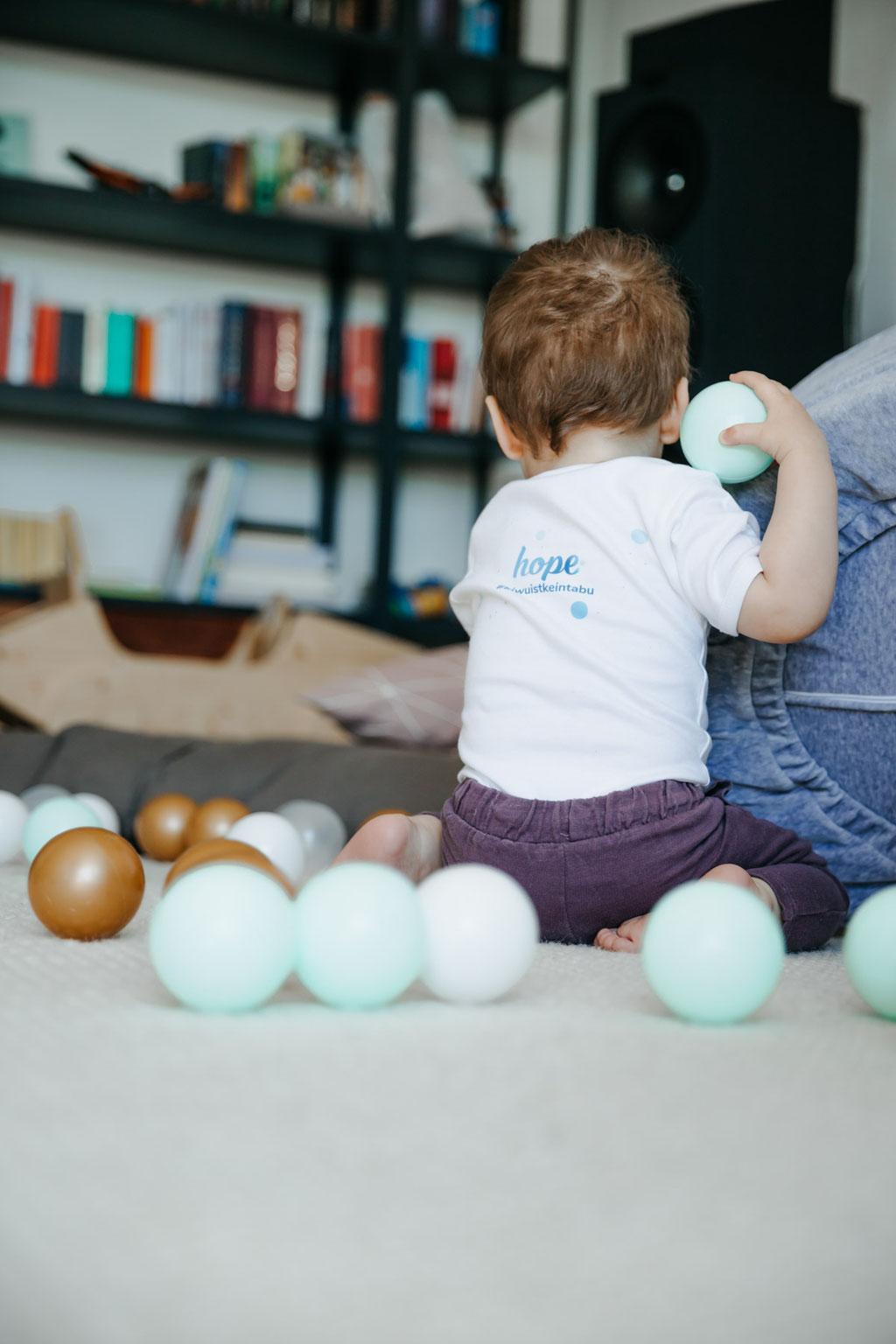 hope App Kinderwunsch-App Kampagne Babyfoto