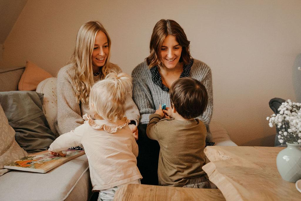 Familienfotograf Hamburg Foto mit Kindern