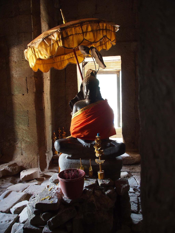 Tempel Bayon in Angkor Wat, Kambodscha
