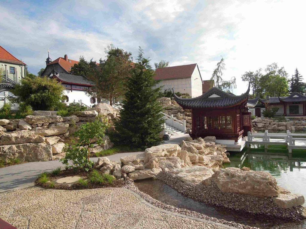 Im Chinesischen Garten Weißensee