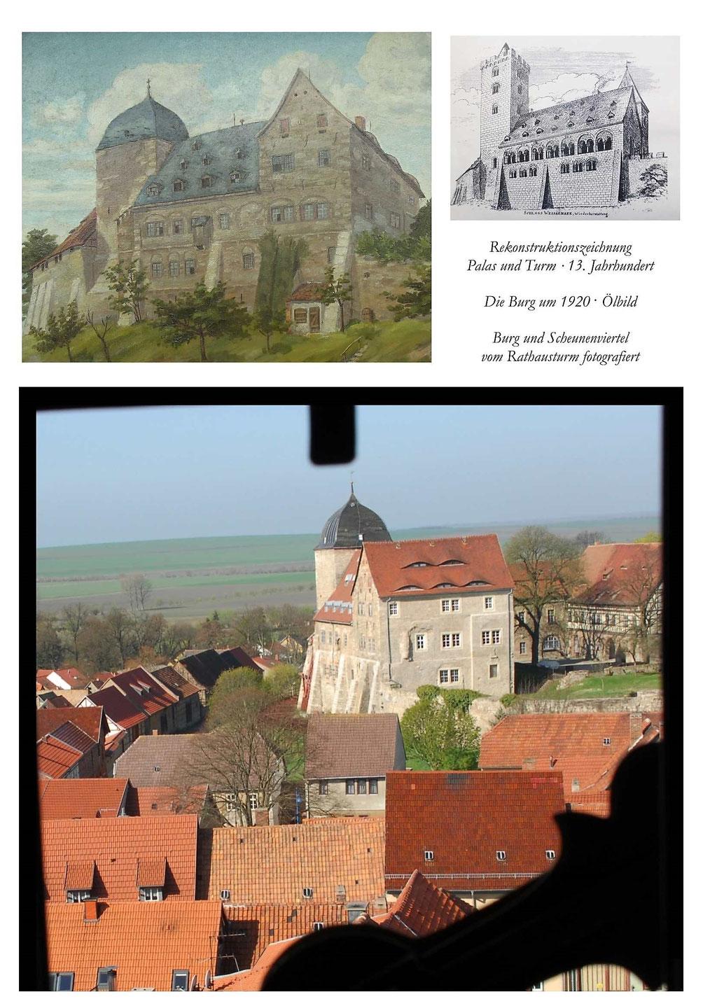 Burg Weißensee-Runneburg Text und BIlder