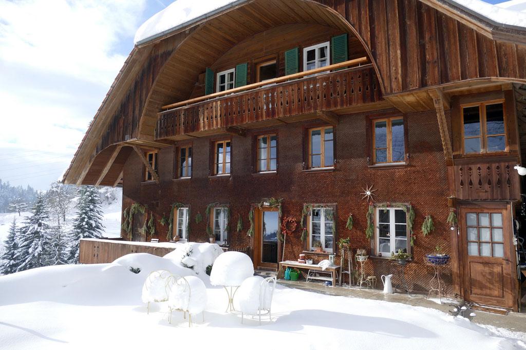 Winter im Neuhaus Emmental