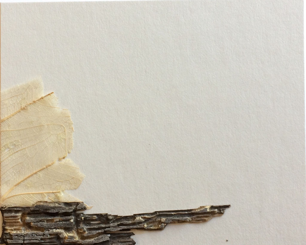 "Cristina Castañeda   ""Teruel""   Collage on cardboard   8 cm x 10 cm  2017"