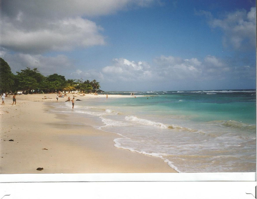 plage  St Anne  Guadeloupe