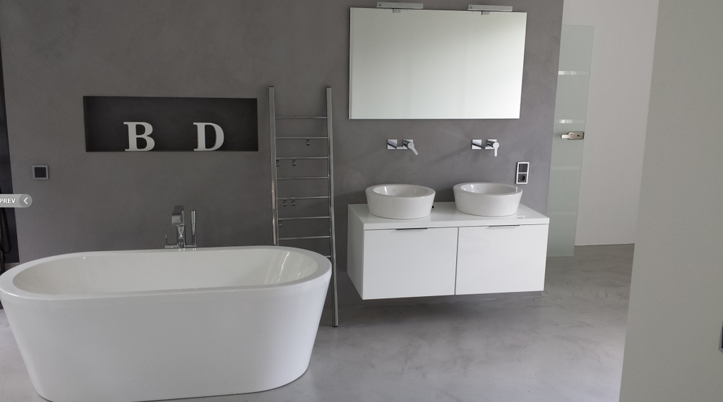 Fugenloses badezimmer fugenlose wandflächen beton cire