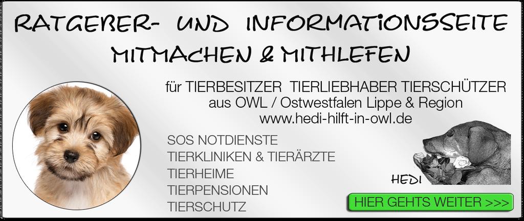Tierkliniken Bielefeld Tierklink Tierarzt Tierärzte Notdienst Tiernotdienst Ostwestfalen Lippe Tieroperation Tierschutz Tierheime Tierpensionen Tierquälerei Tierschützer