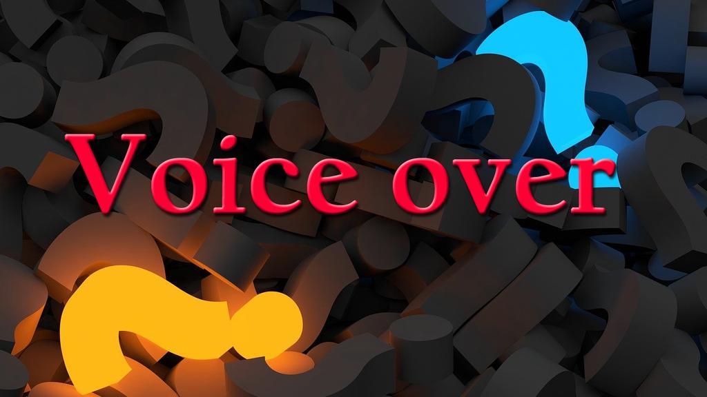 Voix Off Voice Over