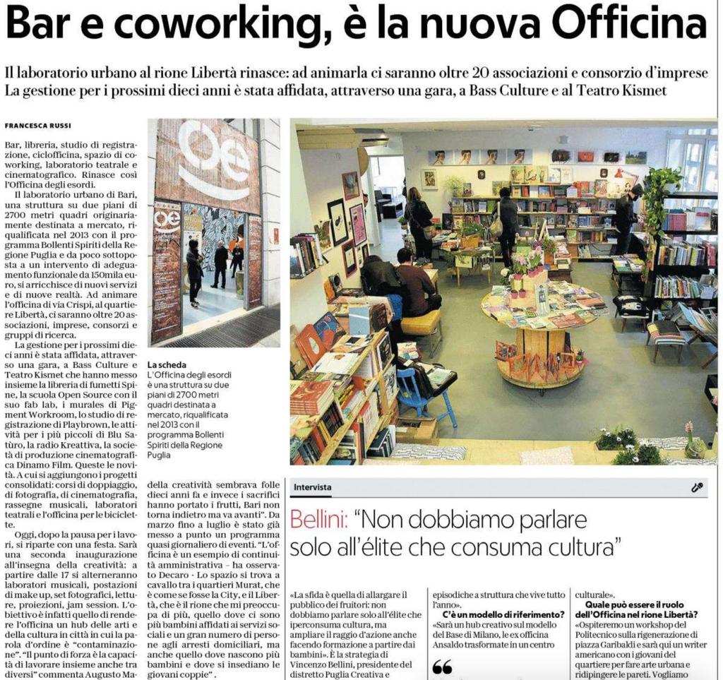 La Repubblica - Bari 21-3-2018