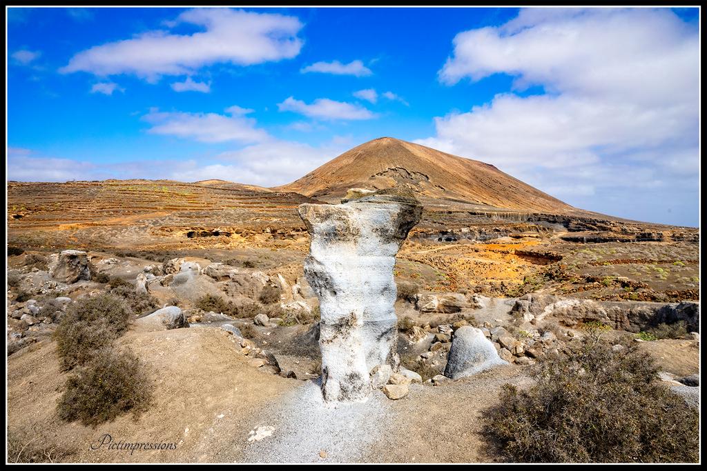 Gesteinsformation / Lanzarote