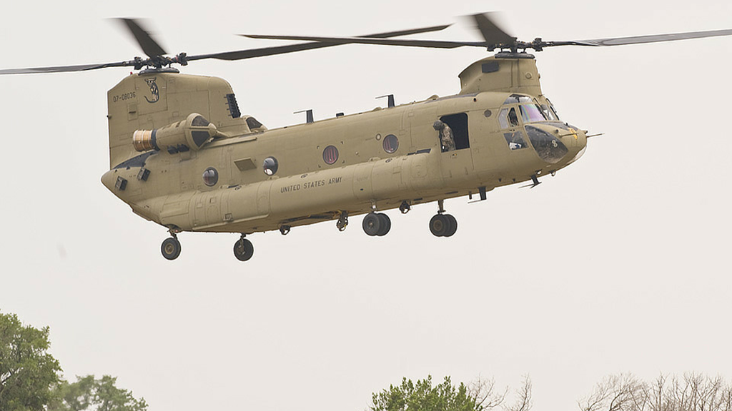 "Boeing CH-47 ""Chinook"" / © Boeing Company"