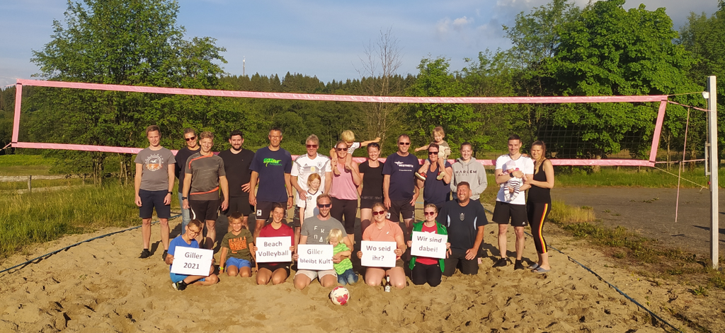 TV Kreuztal beim Beach-Volleyball auf der Ginsberger Heide