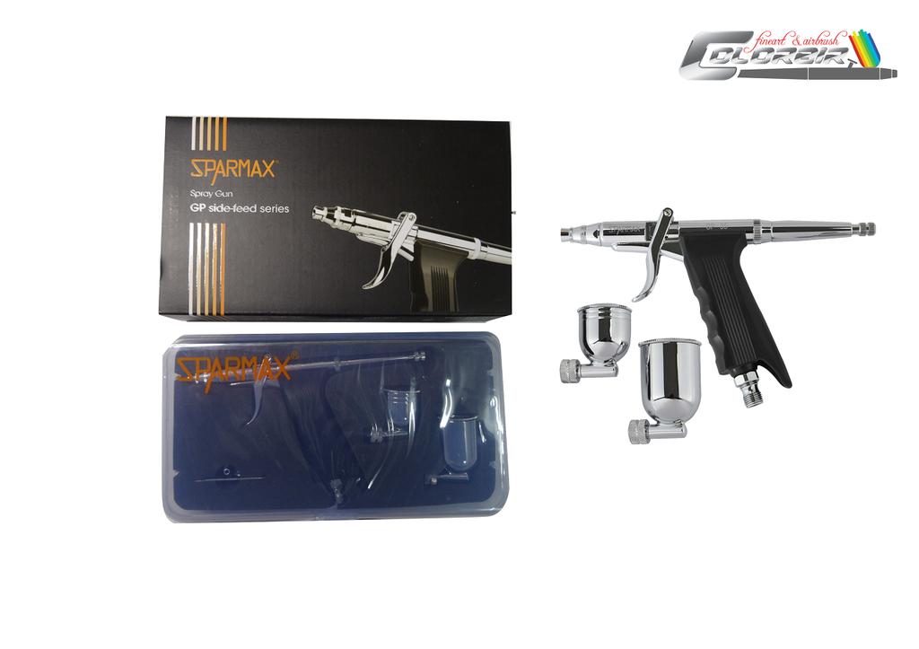 Sparmax GP 35 0,35 mm Düse  & GP 50 0,5 mm Düse  & GP 70 0,7 mm Düse mit kontrollierter Doppelaktion-Funktion