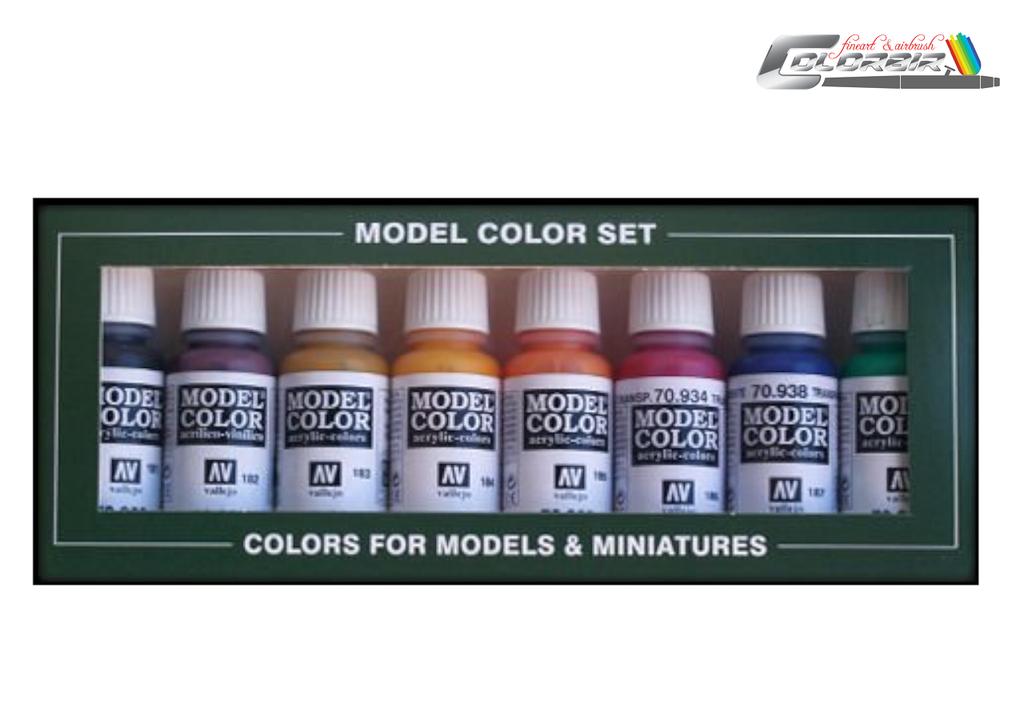 Grundfarben 8 er Basisset