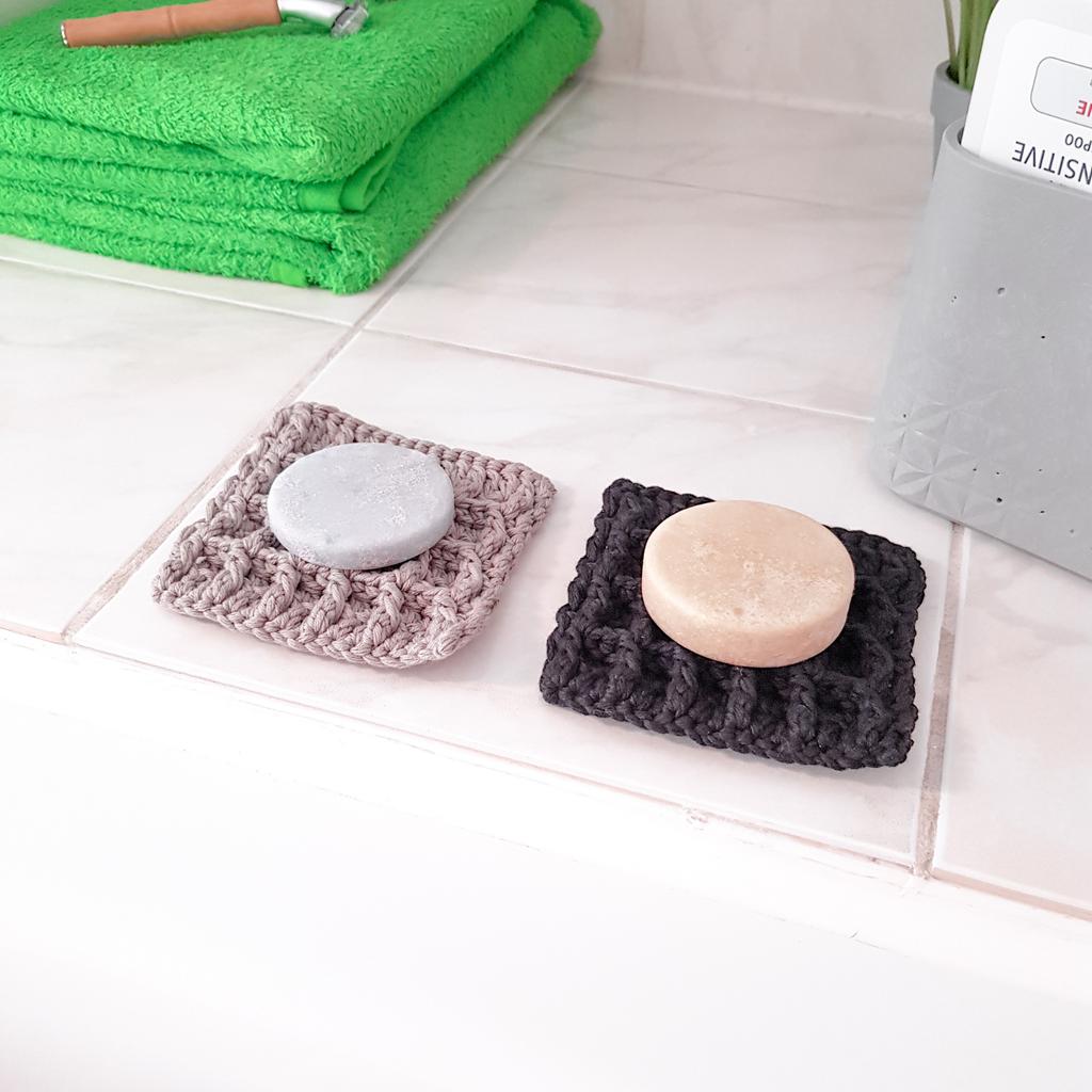 Anleitung Seifenablage Susi aus Bio-Baumwolle
