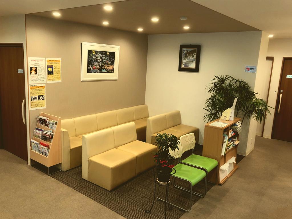 金沢文庫エールクリニック 待合室