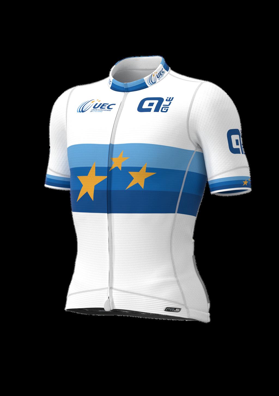 Alé UEC jersey front