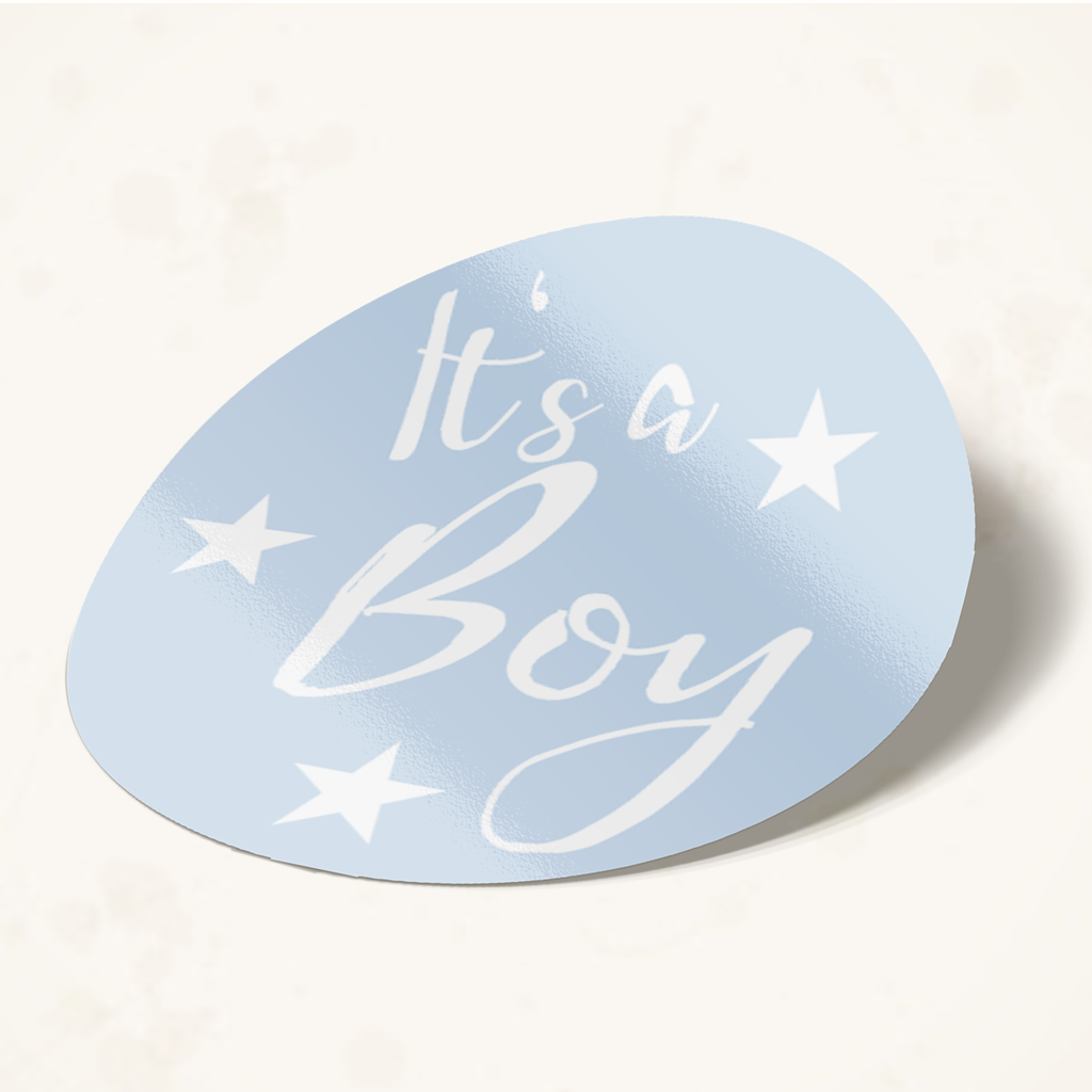 Babykarten mit Sticker