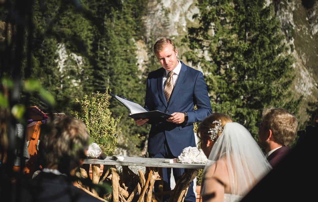 Freie Trauung von Trauredner Pierre Ulfig an der Kampenwand, Die Hochzeitsmacher