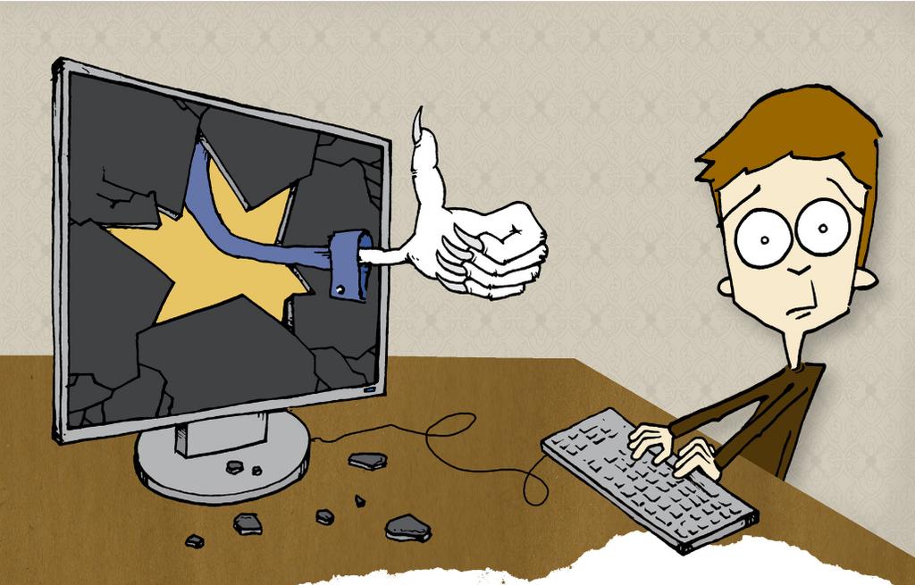 """Charakter, HAZ, Thema """"Unliebsame Freunde bei Facebook"""""""