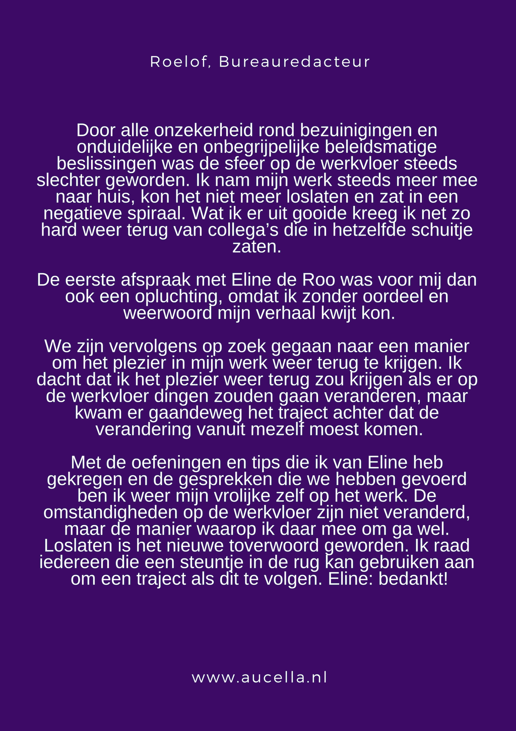 Review Roelof
