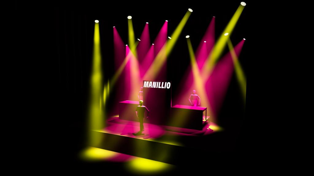 Lightdesign Manillio Plus - Minus Tour 2019