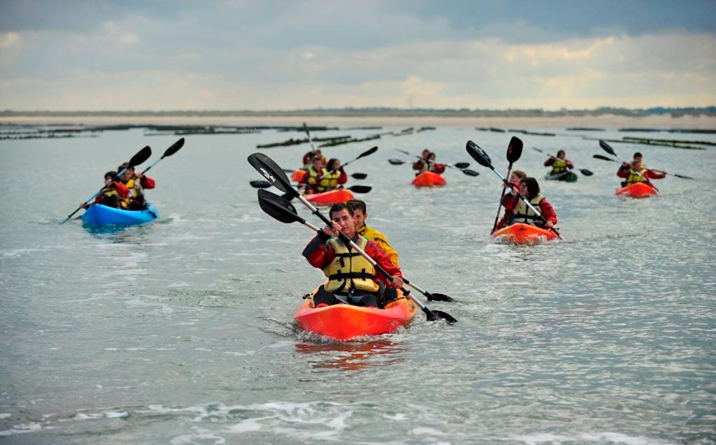 Kayak dans la Baie de Sienne - 10 min