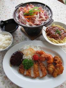 「必勝夕定食」