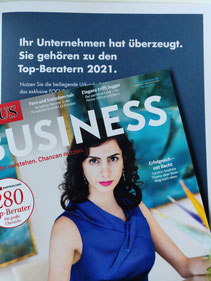 Awarded TOP HR consultancy in Focus Business issue April 2021