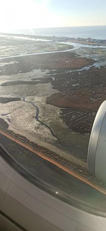 Landeanflug auf Faro