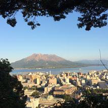 鹿児島出張で桜島がきれいに見れました♪