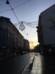 Mein morgendlicher Ausblick auf die Bogstadtveien auf dem Weg zur Arbeit