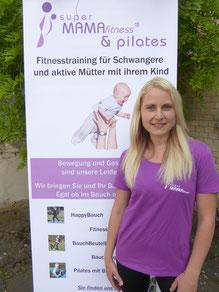 Kursleitung Carina Winter - Fitness mit Baby - Sport mit Baby