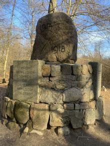 Gedenkstein für die Gefallenen des 1. Weltkrieges