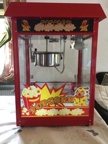 Profi Popcornmaschine XL bei uns inkl. 50 Portionen mieten!