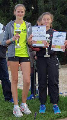 Janina Dornhöfer und Dana Gaidarzi