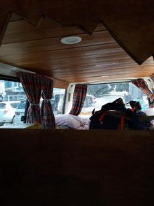 - Sac dans le van - Les vancances commencent en Nouvelle-Zélande -