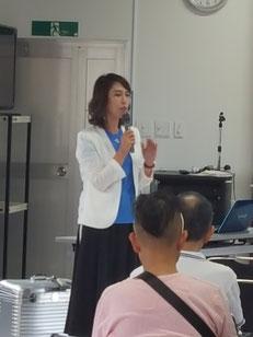 鹿児島県理容組合にてニューヘアー『Leap』の講習会が開催された。(2019.9.23)