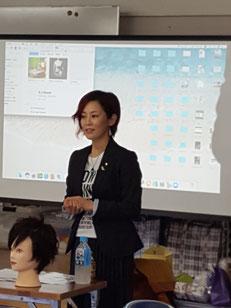 山口直美 中央講師(福岡)を招いて、鹿児島早苗会の2019年10月期の講習会が開催された。(2019.10.7)