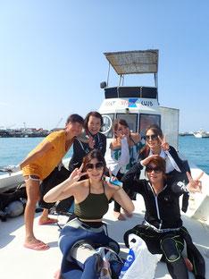 石垣島でのんびりダイビング「オール大阪」ヒートハートクラブ