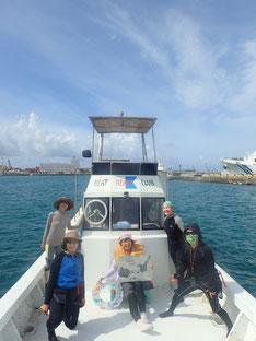 石垣島でのんびりシュノーケリング「TEAM美魔女」ヒートハートクラブ